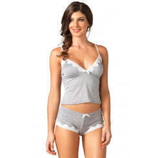 Комплект Leg Avenue - Jersey cami & short set, S