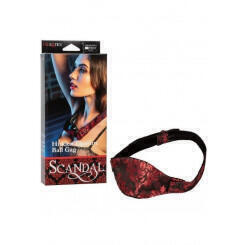 Закрытый кляп-шарик Scandal Hidden Pleasure Ball Gag California Exotic Novelties