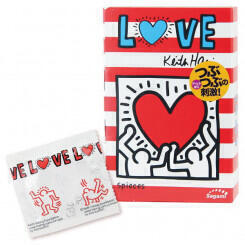 Презервативы Sagami LOVE Keith Haring 12's Pack Latex Condom — 1 уп (12 шт)