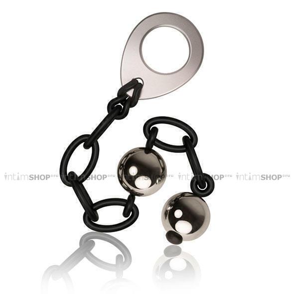 Анальные шарики на силиконовой цепочке Love in Chains