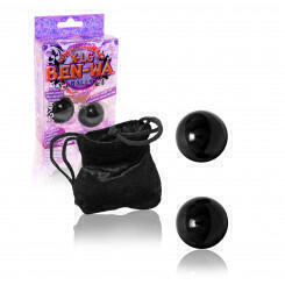 Вагинальные шарики Doc Johnson X-Large Ben Wa Balls, черные