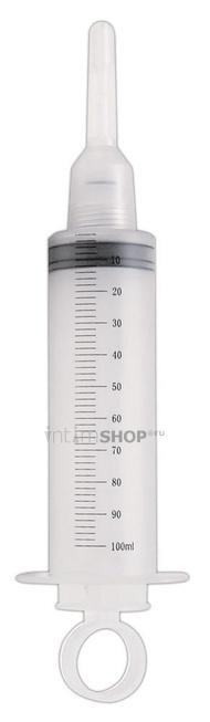 Шприц для Спринцевания с 2 насадками Wet&Horny You2Toys прозрачный