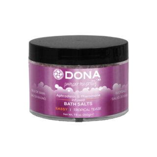 Соль для ванны DONA Bath Salt Sassy Aroma: Tropical Tease 215 г. Нет в наличии