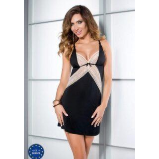 Сорочка Casmir Connie черная, S/M