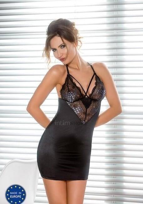 Сорочка Casmir Giorgia черная, S/M