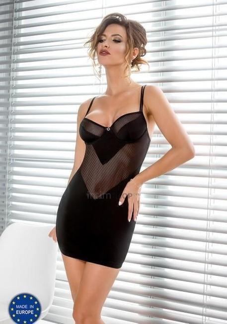 Сорочка Casmir Sissey черная, S/M