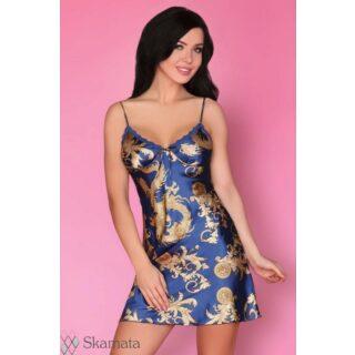 """Сорочка LivCo Corsetti """"Dragana"""" синий, размер XL"""