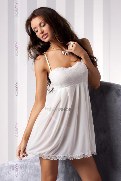 Сорочка прозрачная Casmir Nicolette cream, S/M