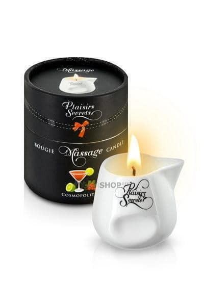 Свеча с массажным маслом Concorde лимонно-клюквенный аромат, 80 мл