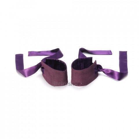 Шелковые наручники Lelo Etherea фиолетовый