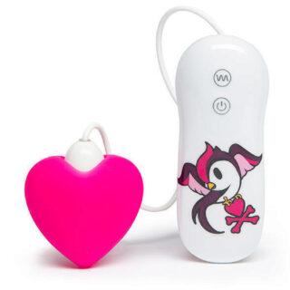 Tokidoki Вибратор клиторальный с 7 функциями Pink Heart