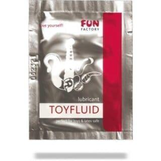 TOYFLUID - гель-смазка на водной основе 3 мл