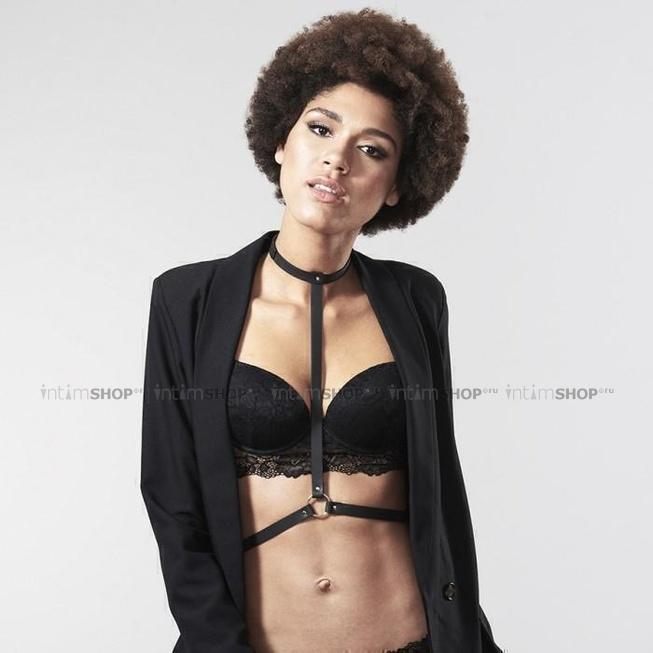 Упряжь Bijoux Indiscrets MAZE-I Harness, черный