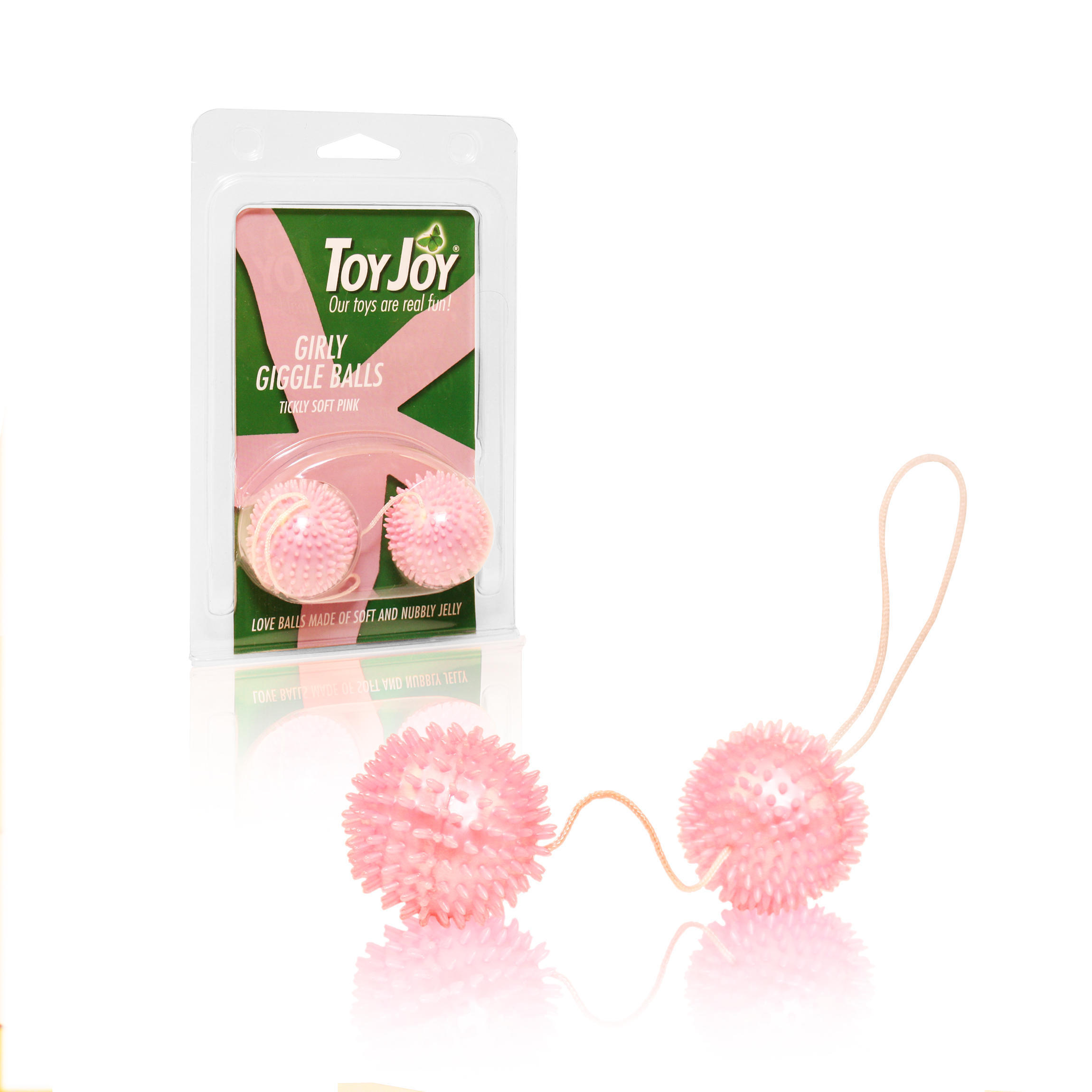 Вагинальные Шарики Girly Giggle Love Balls Hot Pink