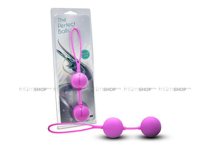 Вагинальные Шарики The Perfect Balls, розовые