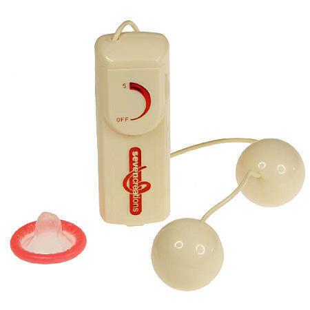 Вагинальные Шарики Vibrating Duoballs