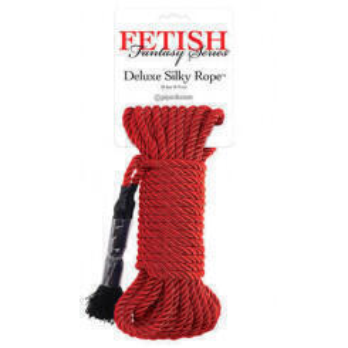 Веревка для фиксации Deluxe Silky Rope красная