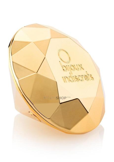 Красивый вибратор Bijoux Indiscrets - Twenty One Vibrating Diamond