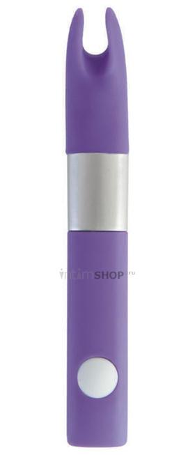 Вибратор клиторальный Qvibry, фиолетовый