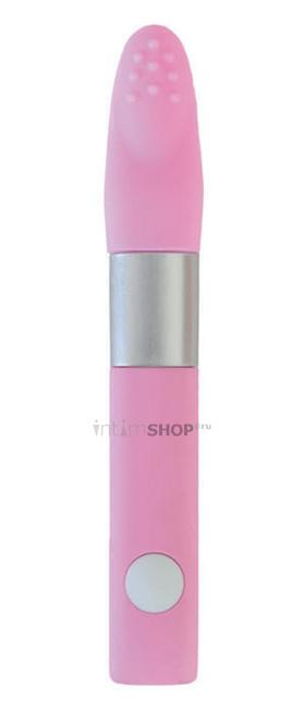 Вибратор клиторальный Qvibry, розовый