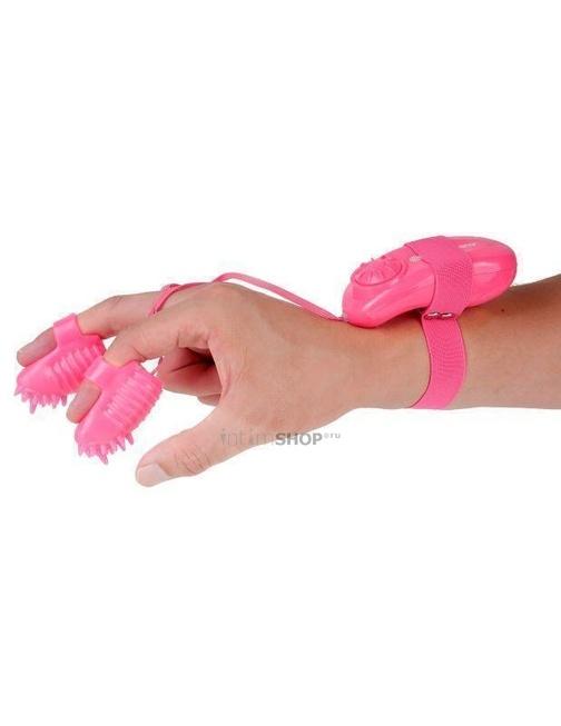 Вибронасадки на пальчики с пультом Neon Magic Touch Finger Fun