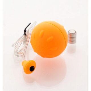 Виброяйцо Sexus Funny Five оранжевое - 4.5 см