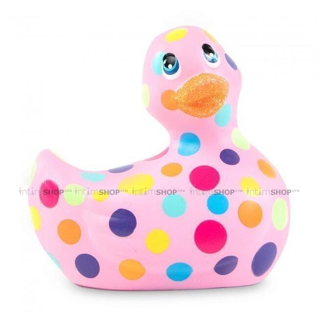 Вибратор Duckie 2.0 Happiness, розовый