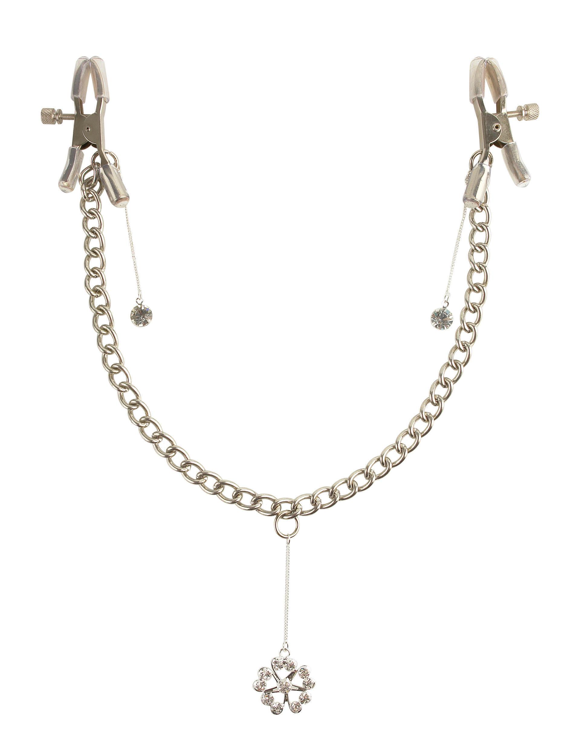Зажимы на Соски Crystal Nipple Clamps