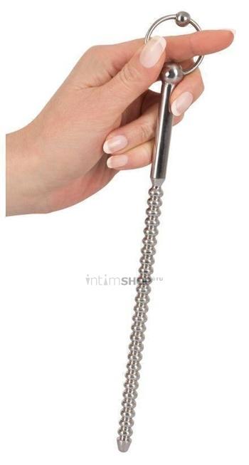 Зонд уретральный винтовой Sextreme Dip Stick Ribbed