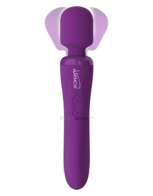 Вибромассажер для тела перезаряжаемый PipeDream Wanachi Body Recharger, фиолетовый