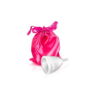Менструальная чаша Coupe menstruelle blanche taille, размер L