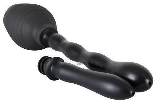 Анальный Душ с 2 съемными насадками Shower Me ORION черный