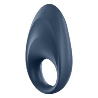Эрекционное кольцо Satisfyer Mighty One с управлением через приложение, синий