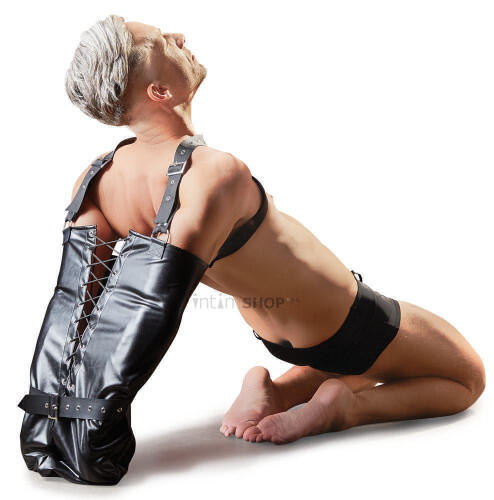 Фиксация на плечи и руки ORION Imitation Leather Armbinder by fetish collection