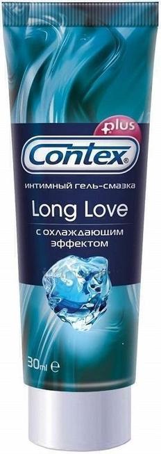Гель-смазка Contex Long Love с охладждающим эффектом, 30 мл туба