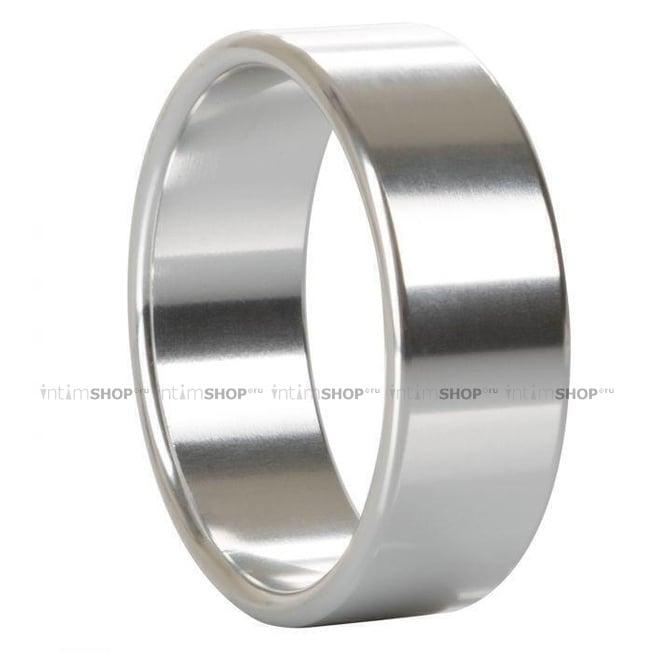 Кольцо на пенис California Exotic Novelties Alloy Metallic XL, серебристый