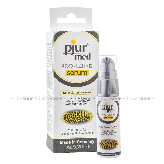 Концентрированная пролонгирующая сыворотка Pjur Med Pro-Long Serum, 20 мл флакон