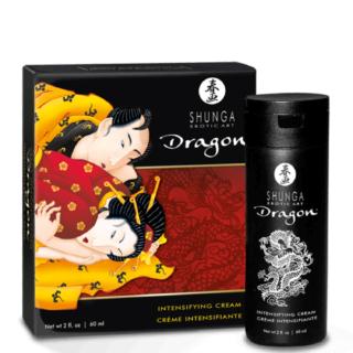 Крем для усиления эрекции Shunga Dragon Мужественность, 60 мл
