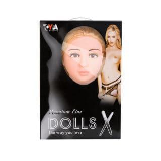 Кукла надувная с реалистичной головой ToyFa Dolls-X