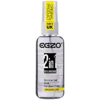Увлажняющий анальный силиконовый гель Egzo 2 in 1 Sex and Massage, 50 мл