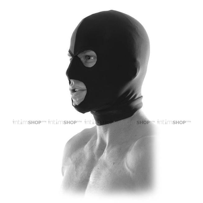 Маска на голову Fetish Fantasy Spandex Hood чёрный.