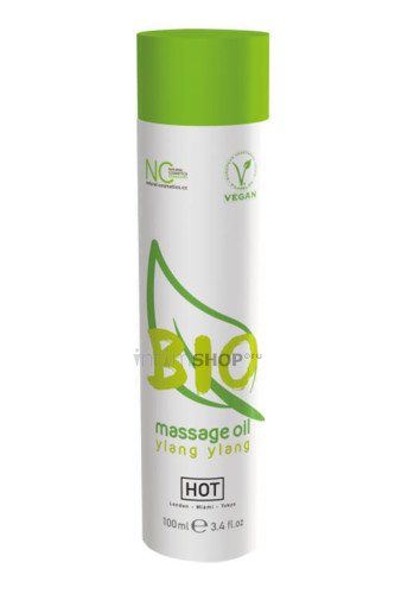 Массажное масло HOT BIO Massage oil ylang ylang, 100 мл