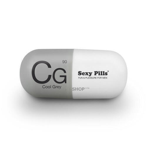 Мастурбатор Love To Love Sexy Pills Cool Grey