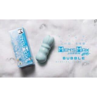 Мастурбатор MensMax Feel 3 Bubble, голубой
