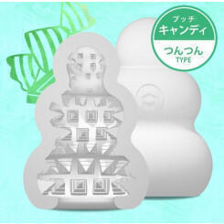 Мастурбатор MensMax Pucchi Candy, белый, 6,5 см