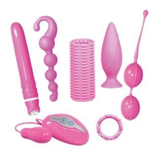 Набор из 7 предметов Orion Sweet Smile Crazy Collection, розовый