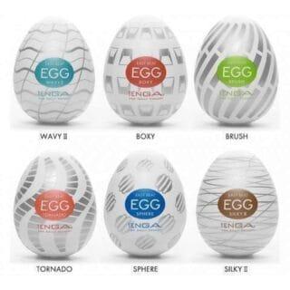 Набор мастурбаторов Tenga Egg №3
