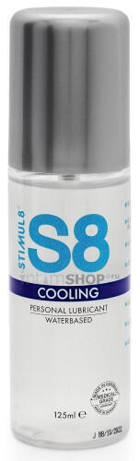 Охлаждающий лубрикант Stimul8 Cooling на водной основе, 125 мл
