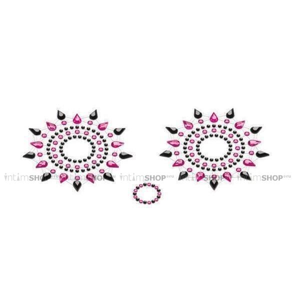 Пестисы PETITS JOUJOUX - GLORIA BLACK & PINK черный/розовый фото