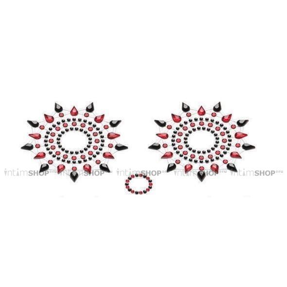 Пестисы PETITS JOUJOUX - GLORIA BLACK & RED черный/красный фото